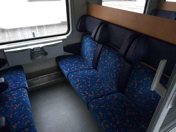 Test-Prague-Brest-Compartment