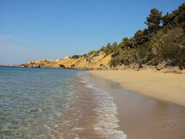 Argostoli-Makris-Gialos-Sand