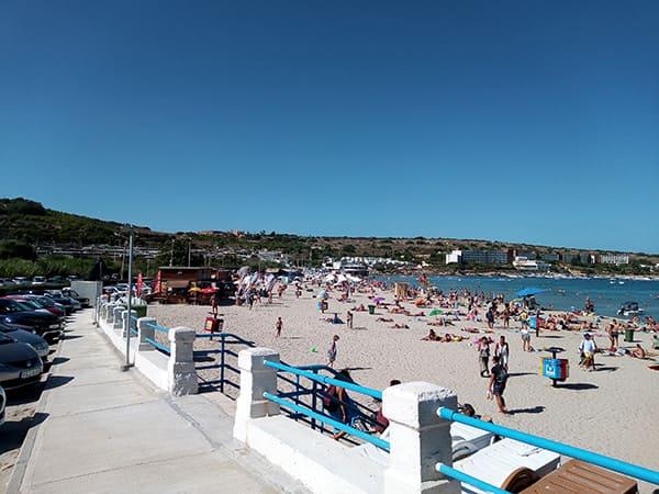 Mellieha- Beach