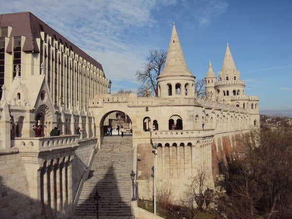 Budapest-Fisherman's Bastion-end