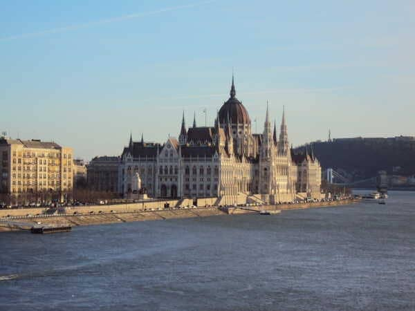 Budapest-Parlament from Magrit hid