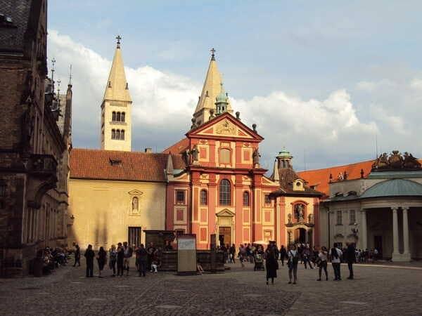 Прага Базилика Святого Георгия