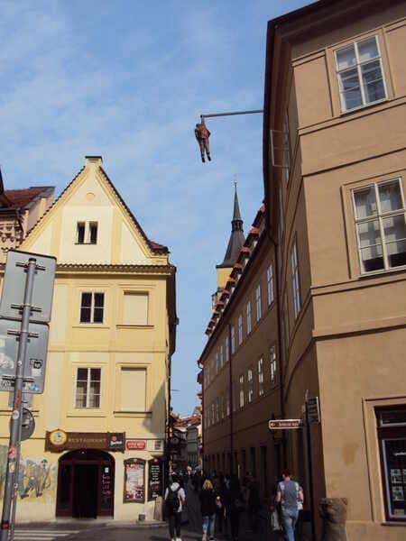 Прага висящий Фрейд
