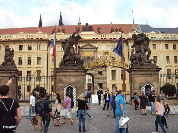 Прага Ворота Гигантов