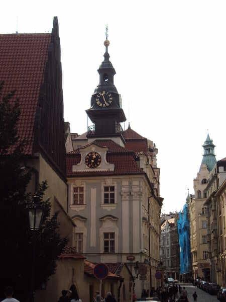 Прага Еврейская Ратуша