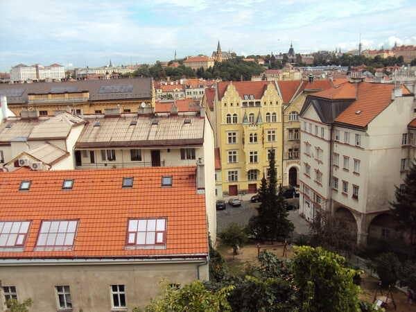 Прага квартал Вышеград