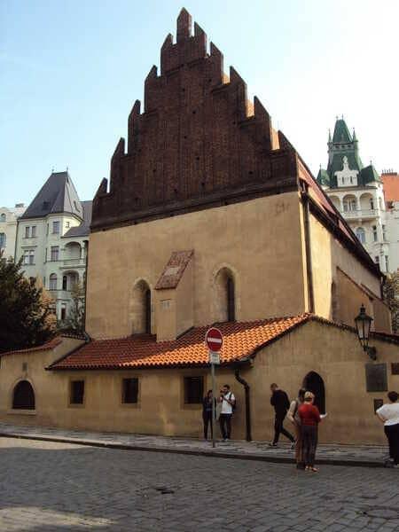 Прага Еврейская Синагога