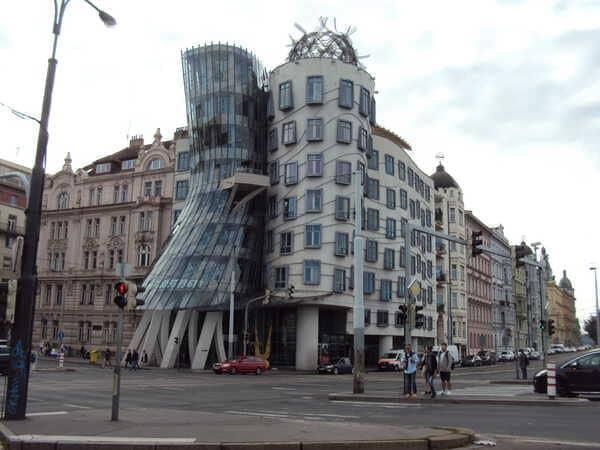 Прага-Танцующий Дом