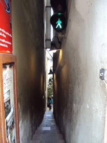 Прага Узкая Улица
