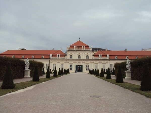 Вена - Нижний Бельведер