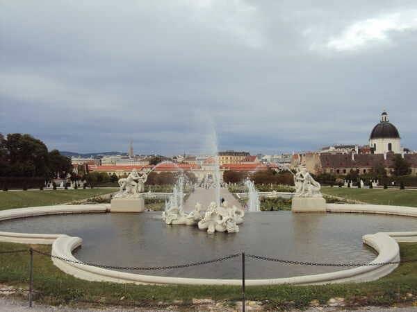 Вена - Бельведер парк
