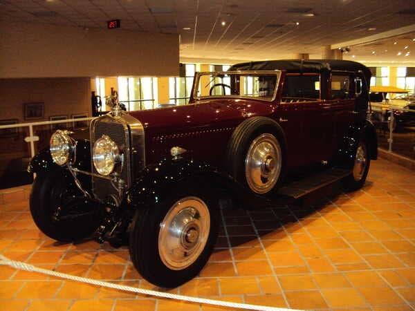 Коллекция автомобилей Князя Монако