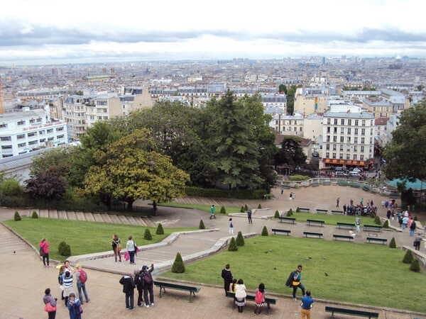 Квартал Монмартр в Париже