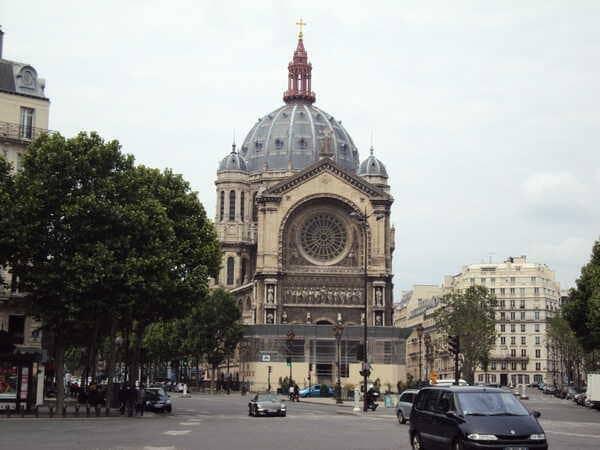 Церковь Сент-Огюстен в Париже