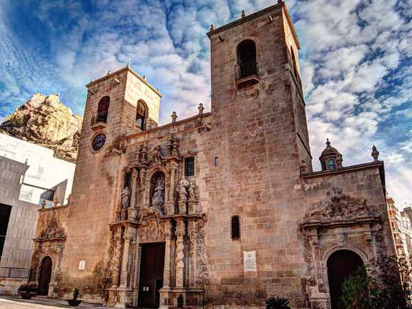 Аликанте - Церковь Святой Марии