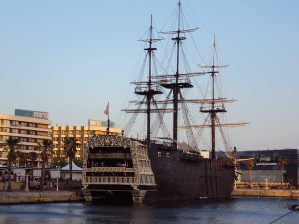 Аликанте-корабль