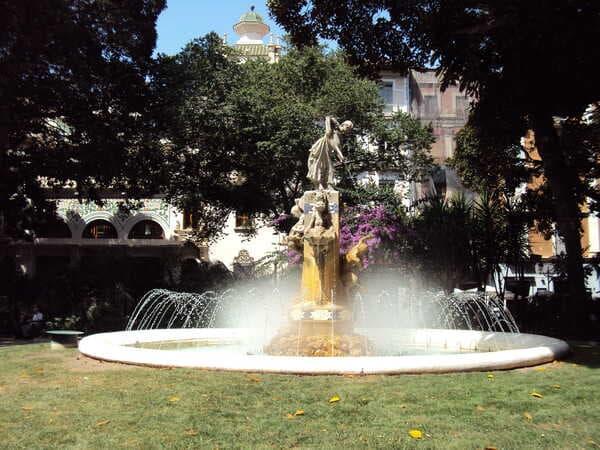 Аликанте-фонтан