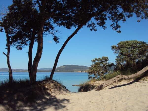 пляж Альгеро