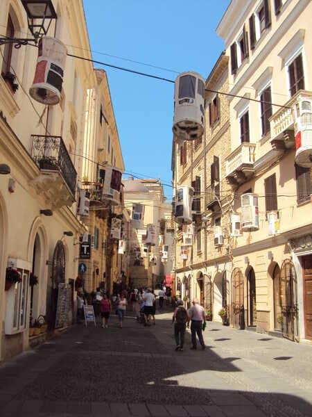 Альгеро старый город