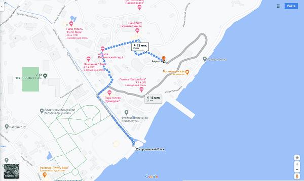 Аренда жилья в Крыму - выбор маршрута