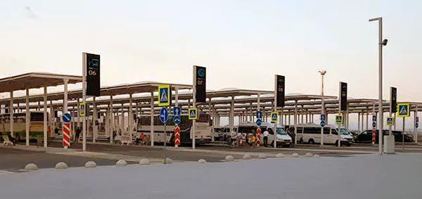 Автостанция в аэропорту Симферополя